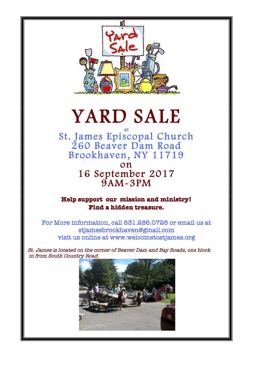 Yard Sale 17